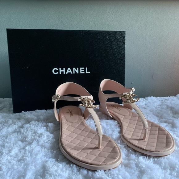 Nwt Ladies Chanel Sandals